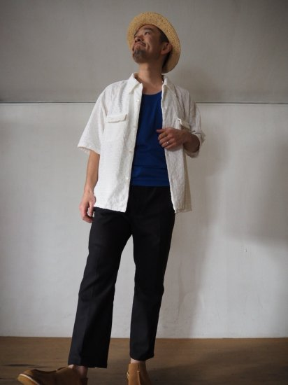 Niche.  LACE オープンカラーシャツ LACE 6