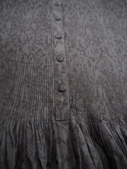 maison de soil CREW-NECK P/O DRESS WITH MINI PINTUCK INMDS20772 4