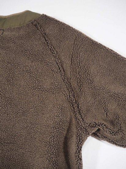 orSlow FLEECE LINER COAT (UNISEX) 03-6030 4