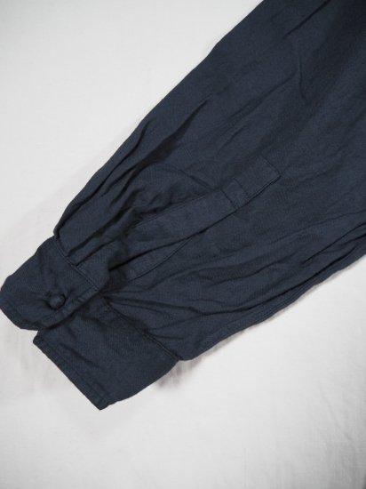 maison de soil V-NECK DRESS WITH RANDOM PLEATS INMDS20703 5