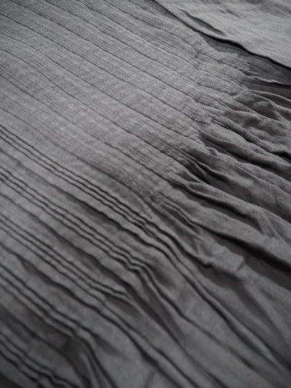 maison de soil V-NECK DRESS WITH RANDOM PLEATS INMDS20703 6