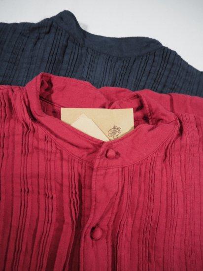 maison de soil V-NECK DRESS WITH RANDOM PLEATS INMDS20703 8