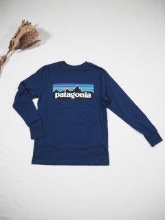 patagonia Boys' Long-Sleeved Graphic Organic T-Shirt [PLCL]