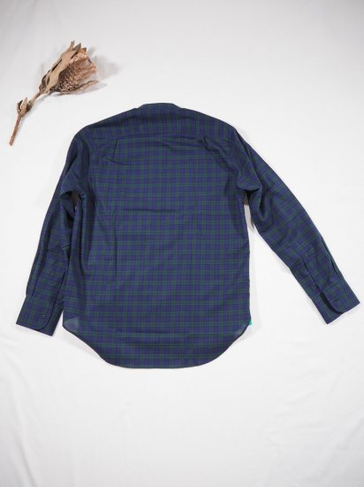 James Mortimer  BAND COLLAR SHIRT DURRANTS 6