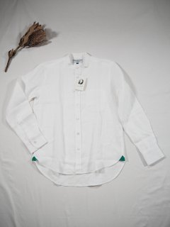 James Mortimer  BAND COLLAR SHIRT