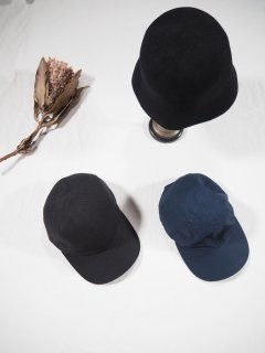 mature ha. _MIL  trainer cap [linen canvas]