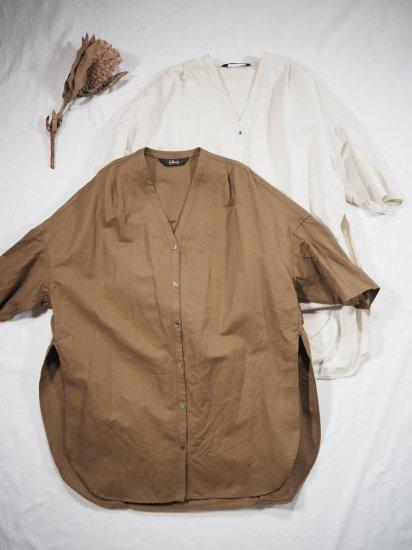 Squady ツイルVネックシャツ 510-1263 6