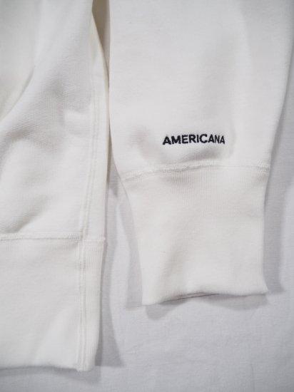 AMERICANA  カーサ別注メンズクルースウェット[LOVE] ASO-472CS 2