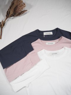 LUV OUR DAYS SWISS COTTON LONG TEE