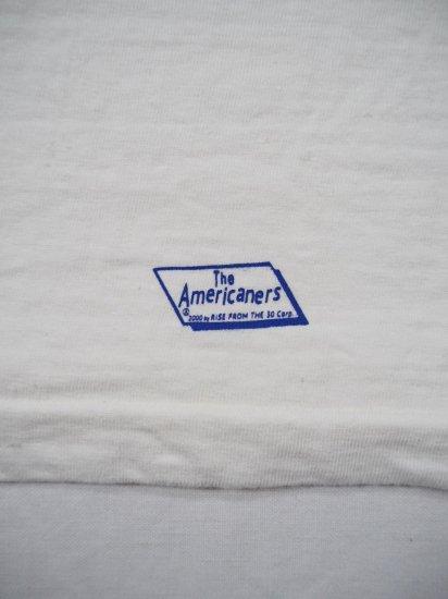 AMERICANA 丸胴ラフィー硫化染めプリントT BRF-504A/3 3