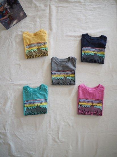 patagonia Baby Fits Roy Skies Organic T-Shirt [LBYG] 60419 0