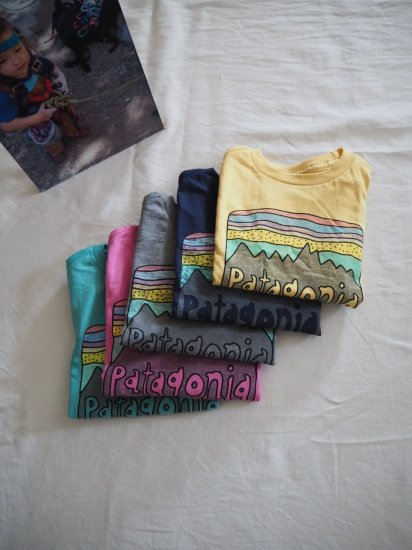 patagonia Baby Fits Roy Skies Organic T-Shirt [SUYE] 60419 1