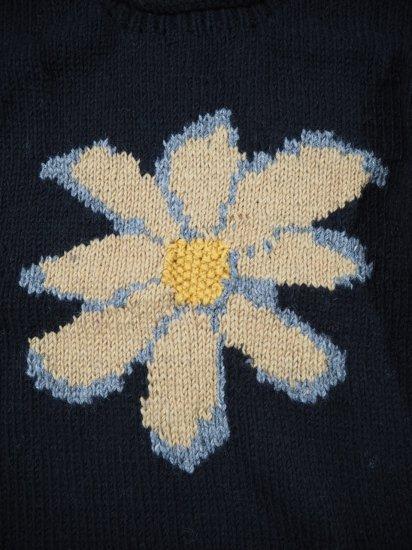 Niche.+MacMahon Knitting Mills ロールネックニット FLOWER 1