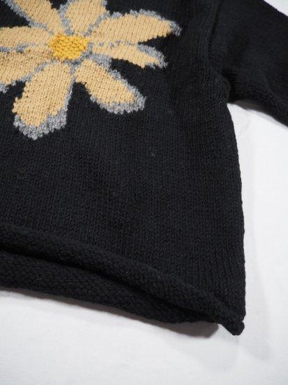 Niche.+MacMahon Knitting Mills ロールネックニット FLOWER 2