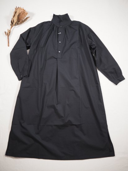 Honnete PLEATED COLLARED GATHER OP HO-21AW OP25 0