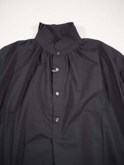 Honnete PLEATED COLLARED GATHER OP HO-21AW OP25 1