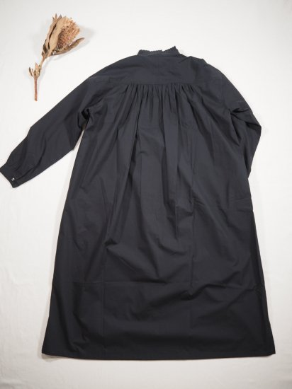 Honnete PLEATED COLLARED GATHER OP HO-21AW OP25 4