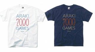 荒木選手2000試合達成Tシャツ