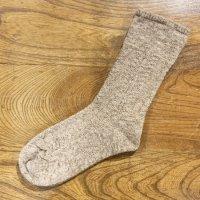 カントリーヘッジ サフォーク靴下 生命の樹 茶霜