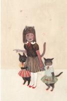 樋口佳絵 ポストカード「パーティーに行こう」