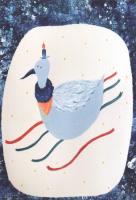 米澤知世 ポストカード「はくちょうのおいのり」
