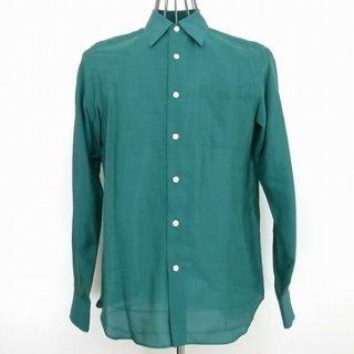 WACKOMARIA SILK DRESS SHIRT(グリーン)