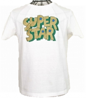 WACKOMARIA SUPER STAR COLOR TEE(ホワイト)