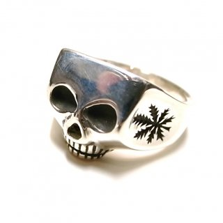 WACKO MARIA  × FLASH POINT JIM SKULL RING