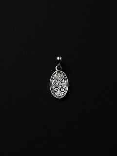 ANTIDOTE BUYERS CLUB Engraved Plate Pendant