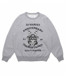 WACKO MARIA DJ HARVEY / CREW NECK SWEAT SHIRT