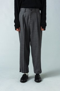 VICTIM WIDE WOOL PANTS