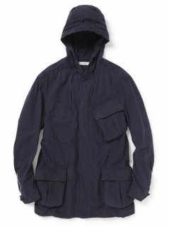 nonnative TROOPER HOODED JACKET COTTON RIPSTOP OVERDYED