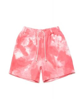 ROTTWEILER TIE-DYED SWEAT SHORTS