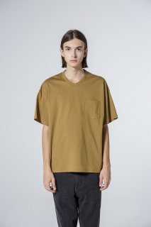 VICTIM V-NECK BIG TEE