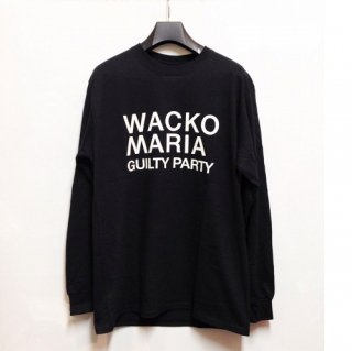 WACKO MARIA CREW NECK LONG SLEEVE T-SHIRT ( TYPE-1 )