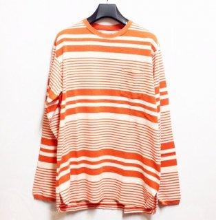 nonnative DWELLER L/S TEE COTTON JERSEY BORDER