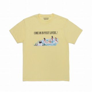 WACKO MARIA CREW NECK COLOR T-SHIRT ( TYPE-2 )