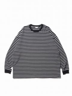 COOTIE Heavy Thermal Border L/S Tee
