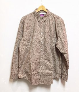 nonnative DWELLER B.D. L/S SHIRT RELAXED FIT COTTON RIPSTOP LIBERTY® PRINT