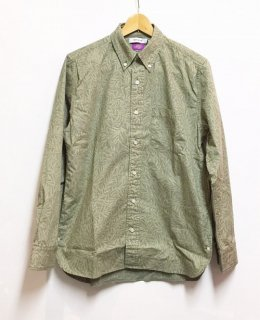nonnative DWELLER B.D. L/S SHIRT COTTON RIPSTOP LIBERTY® PRINT