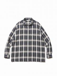 COOTIE Jacquard Check L/S Shirt