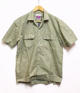 nonnative BOWLER S/S SHIRT COTTON RIPSTOP LIBERTY® PRINT