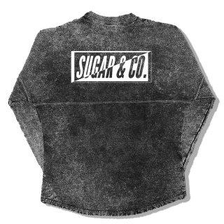 Sugar&Co. drop sweat(black sesame)