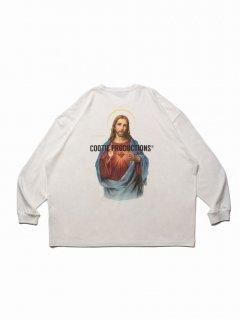 COOTIE Print Oversized L/S Tee (JESUS)