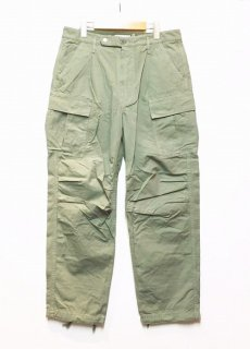 nonnative SOLDIER 6P EASY PANTS COTTON RIPSTOP OVERDYED