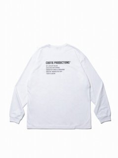COOTIE Print L/S Tee (LOGO)