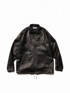 COOTIE Leather Coach Jacket