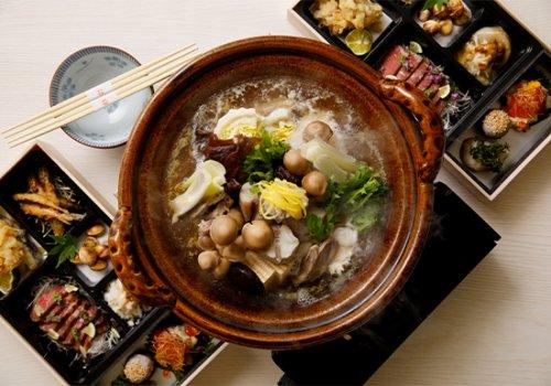 【忘年会コース】お料理詰め合わせと贅沢に能登フグを使ったフグちり鍋セット 1人前4000円(税別)※2人前より