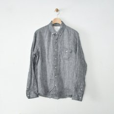h.b b.d. shirts french linen chambray