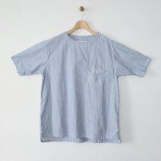 h.b summer time shirts typewriter stripe